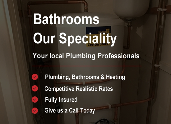 N Monk Plumbing and Heating - Bathrooms our speciality